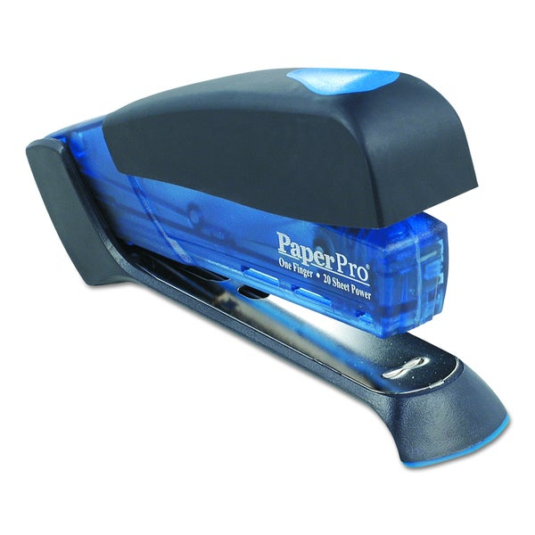 PaperPro Translucent Blue Desktop Stapler