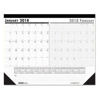 House of Doolittle 2016 Two-Month Desk Pad