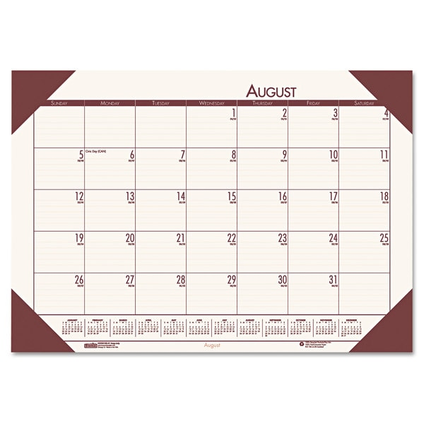 House of Doolittle 2015-2016 EcoTones Academic Desk Pad Calendar