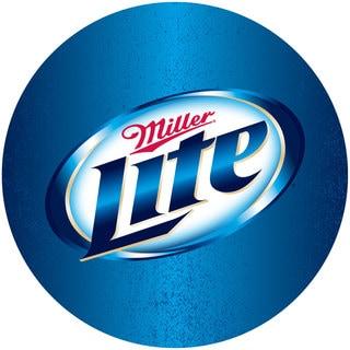 Miller Lite Weatherproof Padded Outdoor Bar Stool