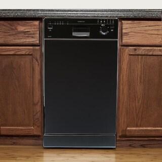 EdgeStar 18-inch Built-In Dishwasher - Black