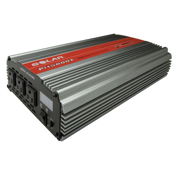 Triple Outlet 1500W Power Inverter