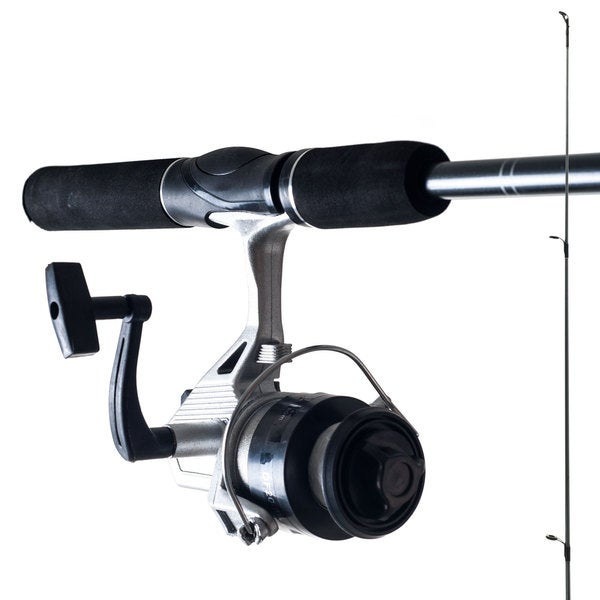 Gone Fishing Worm Gear Rod and Spinning Reel Combo