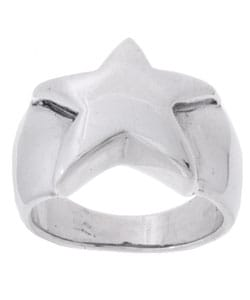Tressa Sterling Silver Star Ring