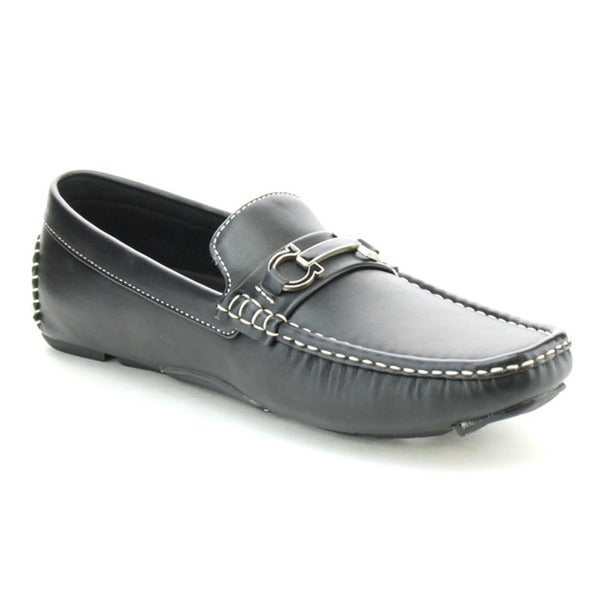 J's Awake Boston-25 Men's Comfort Driving Moccasin Style Slip On Loafers