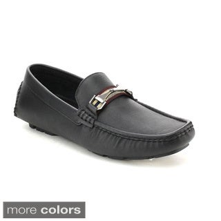 J's Awake Liam-53 Men's Comfort Driving Moccasin Style Slip On Loafers