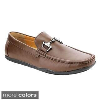 J's Awake Owen-83 Men's Comfort Driving Moccasin Style Slip On Loafers