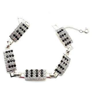 Detti Originals Piano Keys crystal bracelet
