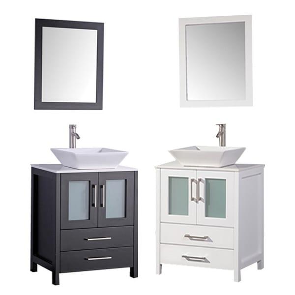 mtd vanities jordan 30 inch single sink bathroom vanity set with