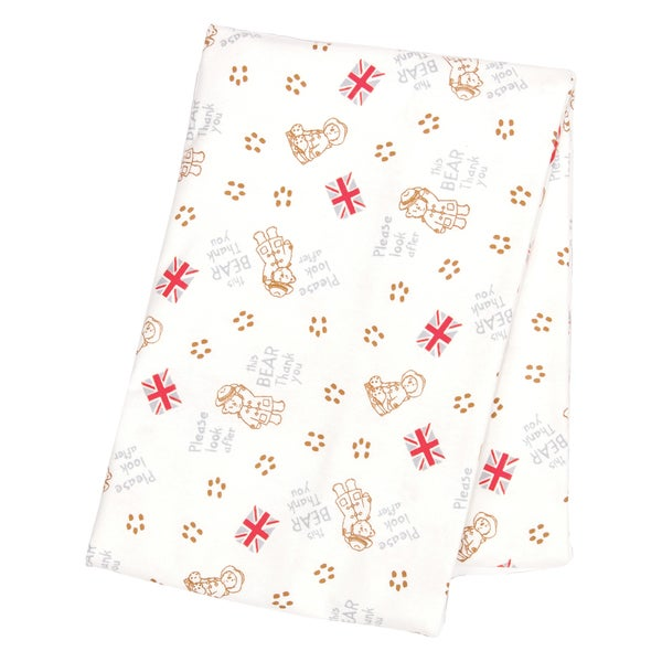 Trend Lab Paddington Bear Deluxe Flannel Swaddle Blanket