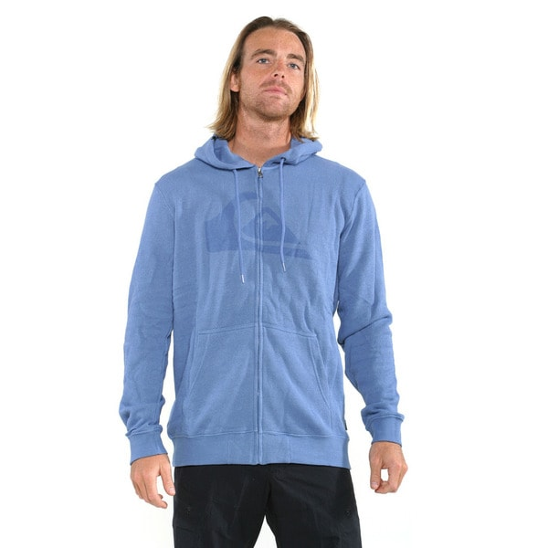 Quicksilver Men's Federal Blue Watterson Full-zip Sweatshirt