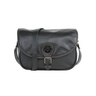 Longchamp Black Au Sultan Crossbody