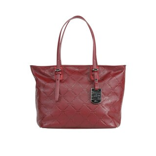 Longchamp Carmine LM Cuir Shoulder Tote Small