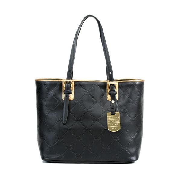 Longchamp Black LM Cuir Small Shoulder Bag