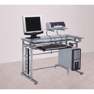 Felix Chrome Computer Desk