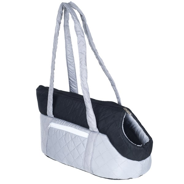 Cozy Cat Travel Pet Carrier by PAW Grey/ Black