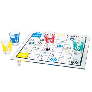 Shooters and Ladders Drinking Game Set