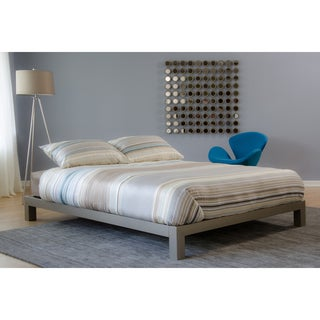 Motif Design Aura Gray Platform bed