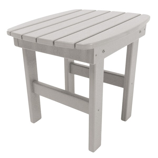 Adirondack Side Table in a Grey Finish