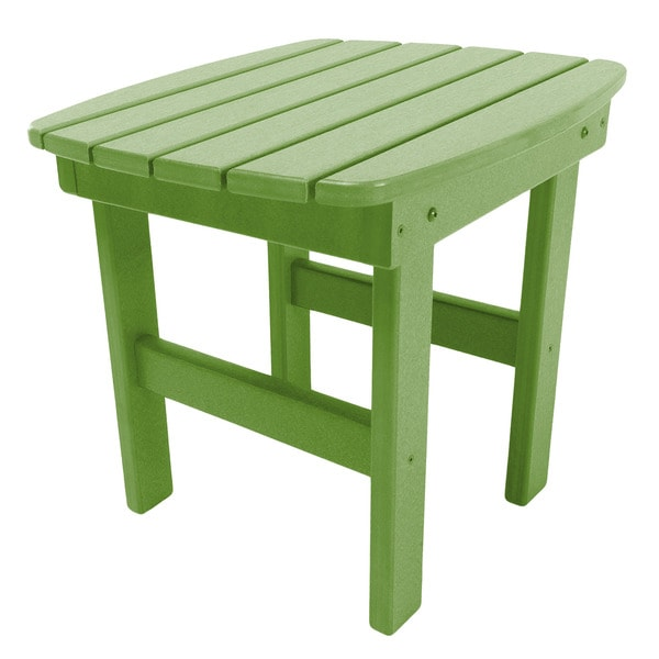 Adirondack Side Table in a Lime Finish