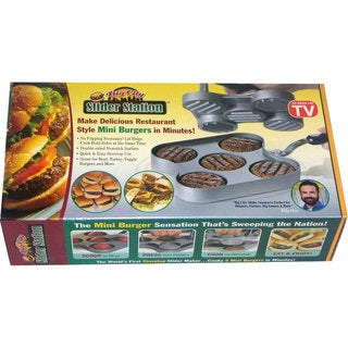Big City Slider Station Hamburger Press - BIGS000946