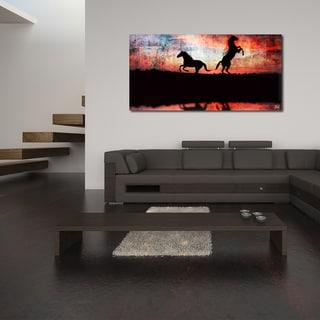 Ready2HangArt 'Equestrian Saddle Ink PSXXIV' Canvas Wall Art