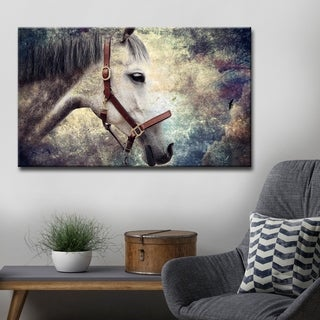 Ready2HangArt 'Equestrian Saddle Ink PSXIV' Canvas Wall Art