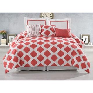 Hotel Hilton 6-piece Reversible Comforter Set