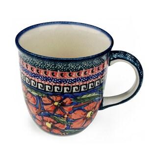 Handmade Stoneware 12-ounce Mug (Poland)
