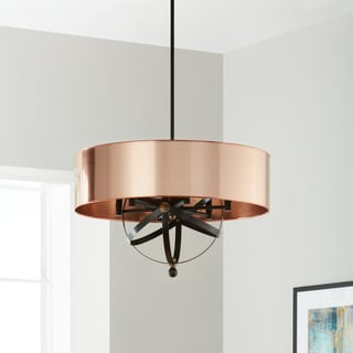 Copper Orb 6-Light Pendant