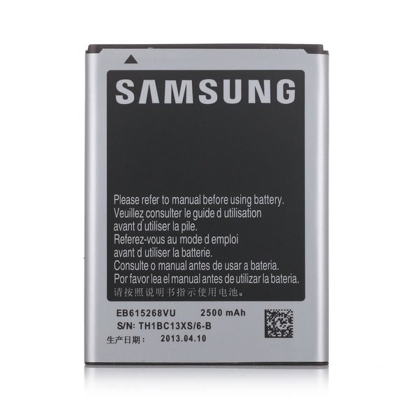 Samsung Galaxy Note (1st Gen.) 2500mAh OEM Replacement Battery