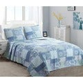Windfall Cotton 3-piece Quilt Set