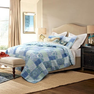 Windfall Queen Size Cotton Quilt Set