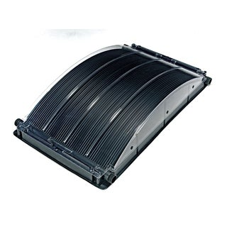 Solar Arc 2' x 4' Solar Heater for Above Ground Pool with Standard and Intex Fittings