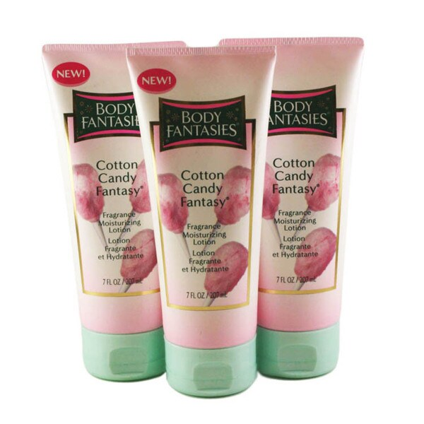 Cotton Candy Fantasy Women's 7-ounce Lotion (Pack of 3)