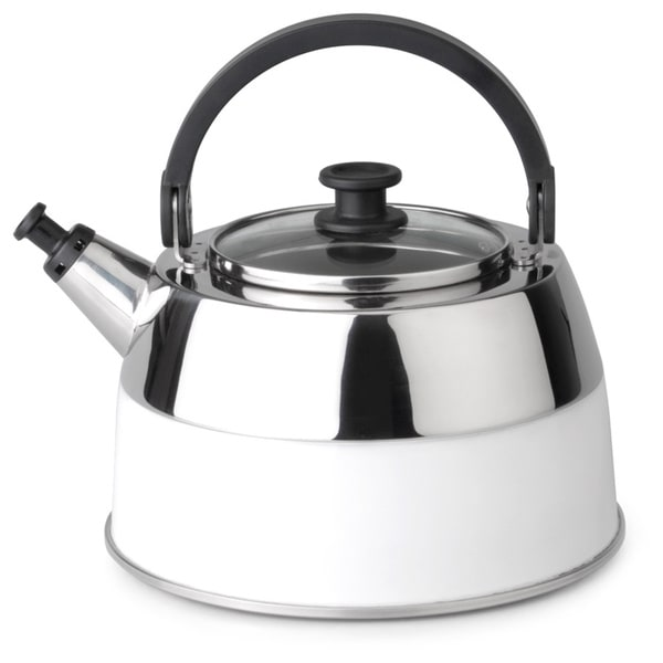 Berghoff Virgo White 2.6-liter Whistling Kettle