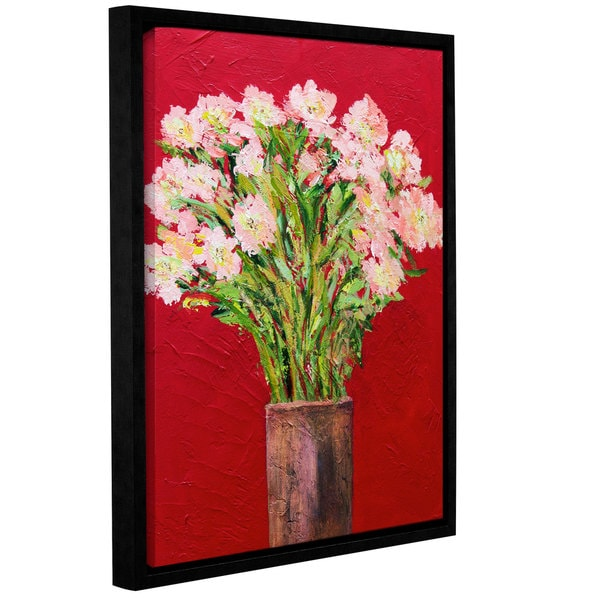 ArtWall Allan Friedlander 'Sparkling' Gallery-wrapped Floater-framed Canvas 15885253