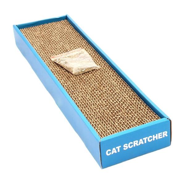 Rectangle Shape Small Cat Scratcher