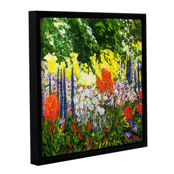ArtWall Allan Friedlander 'Under The Branch' Gallery-wrapped Floater-framed Canvas