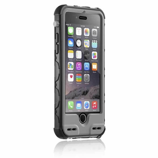 iBattz Armor 3200mAh ShockProof iPhone 6 Case With Replaceable Battery and Belt Clip