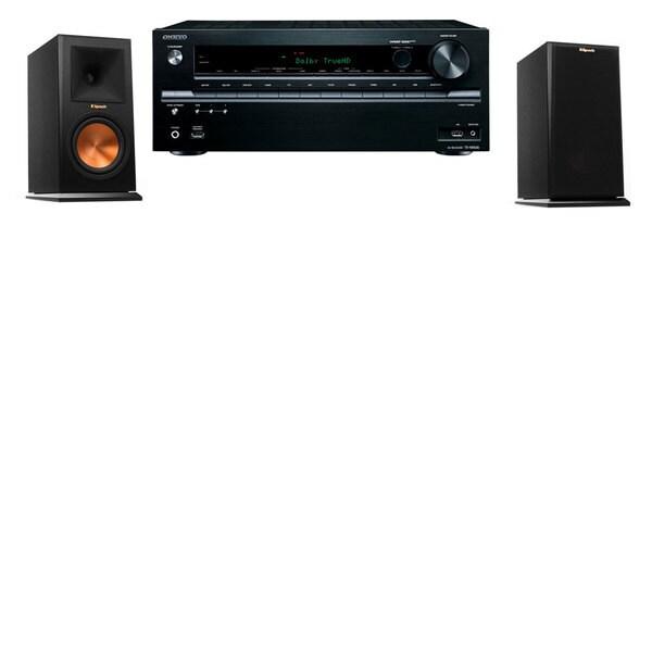 Klipsch RP-150M-E Monitor Speaker Onkyo TX-NR636