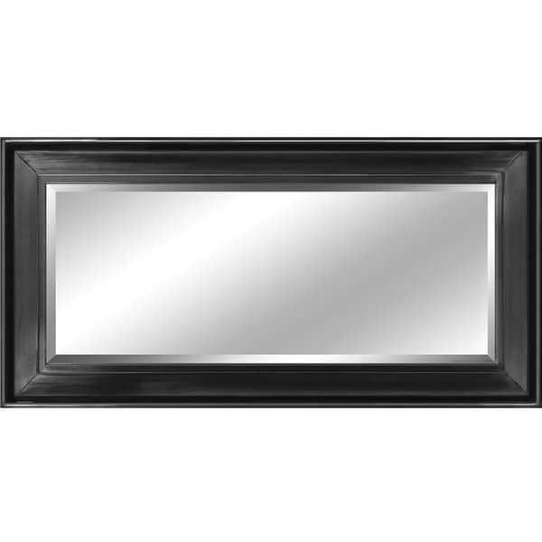 Decorative black 60 inch framed mirror overstock for 60 inch framed mirror