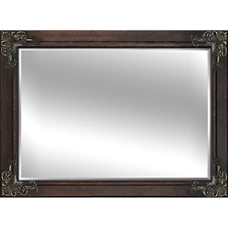Decorative Brown 60-inch Framed Mirror