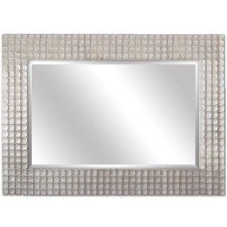 Decorative Silver 60-inch Framed Mirror