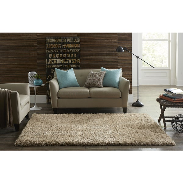SPACES Home & Beyond by Welspun Natural Teddy Shag
