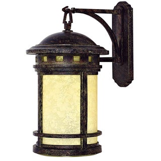 Yosemite Home Decor Single Light Outdoor Wall Sconce