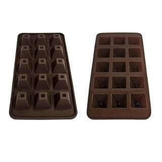 Silicone Pyramid Chocolate Mold