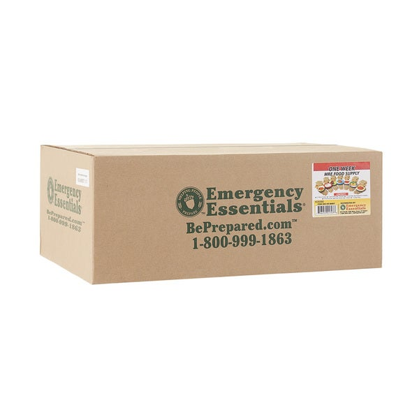 Emergency Essentials MRE One Week Food Supply