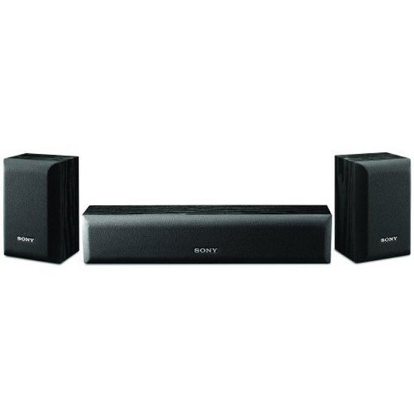 Sony SS-CR3000 120-watt Center and Front Channel Speaker Set (Refurbished) (As Is Item)