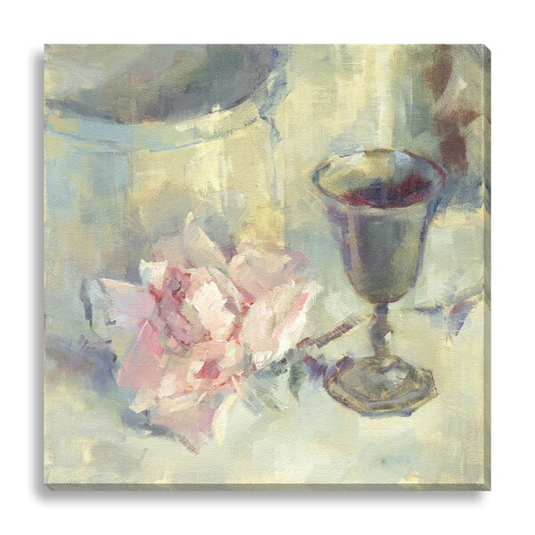 Gallery Direct Suzanne Stewart 'A Cup of Good Cheer' Oversized Canvas Gallery Wrap 15889634